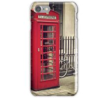 Red London Vibe iPhone Case/Skin