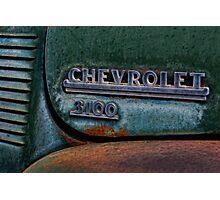 30's Chevy PU Photographic Print