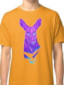 Vector roo midnight marsupial Classic T-Shirt