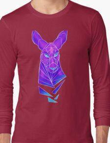 Vector roo midnight marsupial Long Sleeve T-Shirt