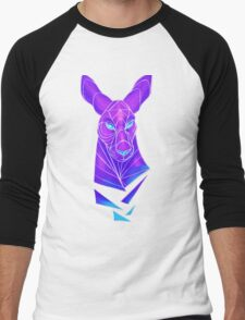 Vector roo midnight marsupial Men's Baseball ¾ T-Shirt