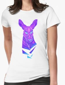 Vector roo midnight marsupial Womens Fitted T-Shirt