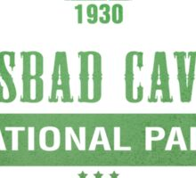 Carlsbad Caverns National Park, New Mexico Sticker