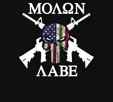 molon labe skull punisher Unisex T-Shirt