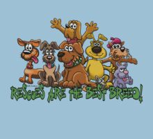 RESCUE DOGS ARE THE BEST BREED! Kids Tee