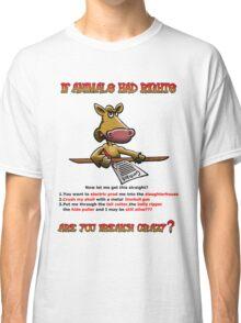 Animal Rights Human wrongs Classic T-Shirt
