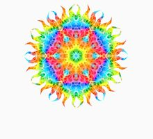 Colorful Neon Glow Fibers Unisex T-Shirt