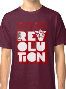 Carl Cox ~ Music is Revolution ~ Classic T-Shirt