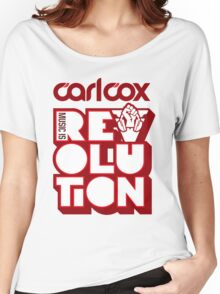 Carl Cox ~ Music is Revolution ~ Women's Relaxed Fit T-Shirt