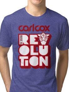 Carl Cox ~ Music is Revolution ~ Tri-blend T-Shirt