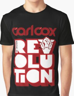 Carl Cox ~ Music is Revolution ~ Graphic T-Shirt