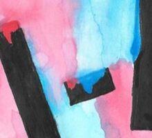 tøp watercolor Sticker