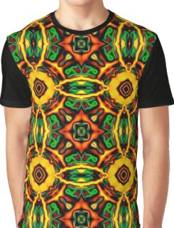 Tribal Visions Geometric Abstract Pattern 4 Graphic T-Shirt