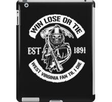 Win Lose or Tie est 1891 West Virginia - West Virginia Shirt iPad Case/Skin
