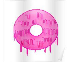 Gum drool doughnut  Poster