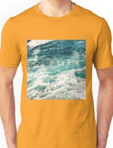 Blue Ocean Waves  Unisex T-Shirt