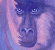 The Monkey's Mane  Sticker