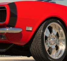 Red Camaro Sticker