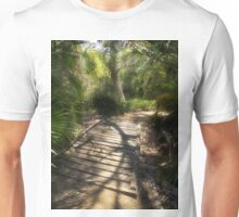 The Journey Along the Path Comes with Light & Shadows Unisex T-Shirt