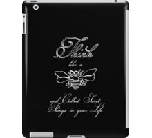 Think like a bee VRS2 iPad Case/Skin