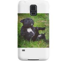Staffordshire bull terrier puppy Samsung Galaxy Case/Skin