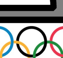 The Olympics Rock! - Curling Rockers Sticker