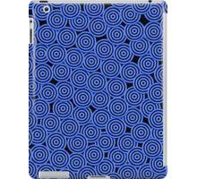 Ocean Blue Circles iPad Case/Skin