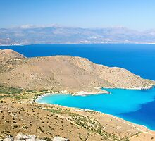 Spectacular scenery from Crete island, Greece by Stanciuc
