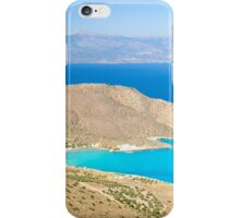 Spectacular scenery from Crete island, Greece iPhone Case/Skin