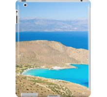 Spectacular scenery from Crete island, Greece iPad Case/Skin