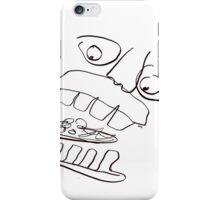 MUNCHING ON FALAFEL iPhone Case/Skin