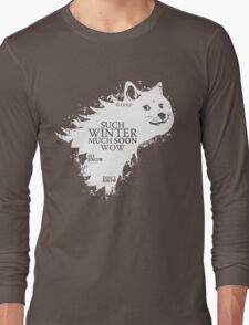 Game of doge Game of Thrones Long Sleeve T-Shirt