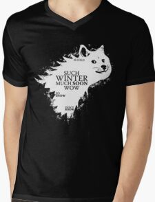 Game of doge Game of Thrones Mens V-Neck T-Shirt