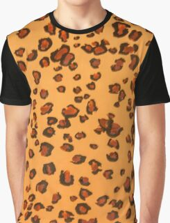 Go Wild with Leopard Skin Graphic T-Shirt