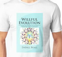 Willful Evolution - Book Cover Products Unisex T-Shirt