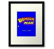 Bomberman Arcade Framed Print