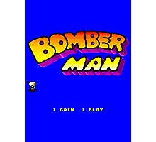 Bomberman Arcade Photographic Print