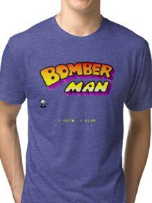 Bomberman Arcade Tri-blend T-Shirt