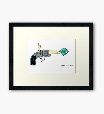 BANG BANG MOFO Framed Print