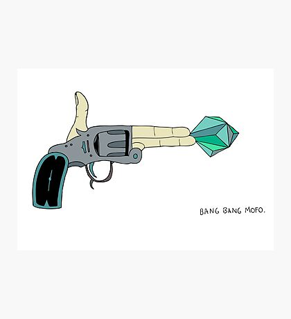 BANG BANG MOFO Photographic Print