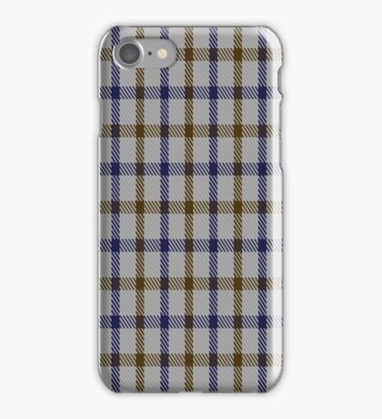 01582 Aquascutum Tartan  iPhone Case/Skin