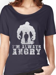 I'm Always Angry T-shirt - Cool Angry Crazy New Level Shirt Women's Relaxed Fit T-Shirt