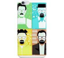 Walter White / Heisenberg Faces Breaking Bad iPhone Case/Skin