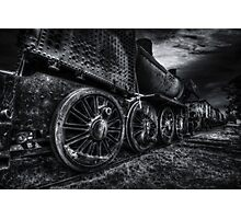 Cold steel Photographic Print