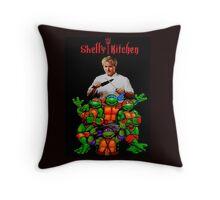 Shell's Kitchen Throw Pillow