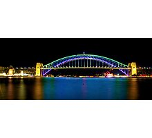 Sydney Harbour Bridge and Opera House Photographic Print