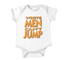 White Men Can't Jump One Piece - Short Sleeve