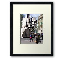 The Mapuche Indian Framed Print