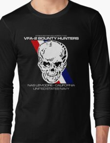 VFA-2 BOUNTY HUNTERS UNITED STATES NAVY STRIKE FIGHTER SQUADRON T-SHIRTS Long Sleeve T-Shirt