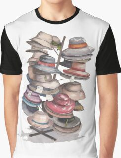 Hat Stand Graphic T-Shirt